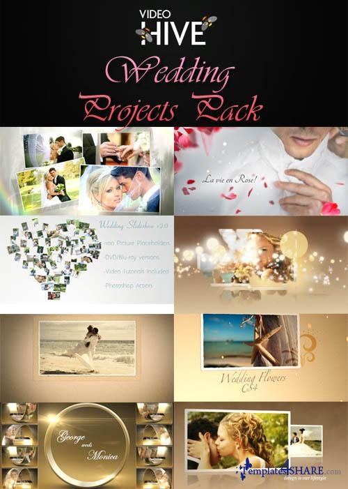 Videohive Projects - Wedding Pack - REUPLOAD