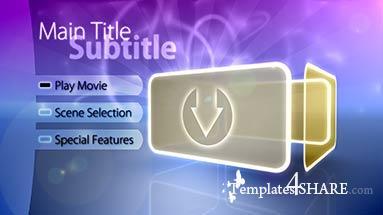 Precomposed Pro Motion Menu Kit: 06 Retro Fusion (+ Tutorials)