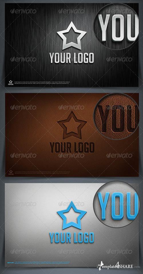 GraphicRiver Straight Logo Mockup