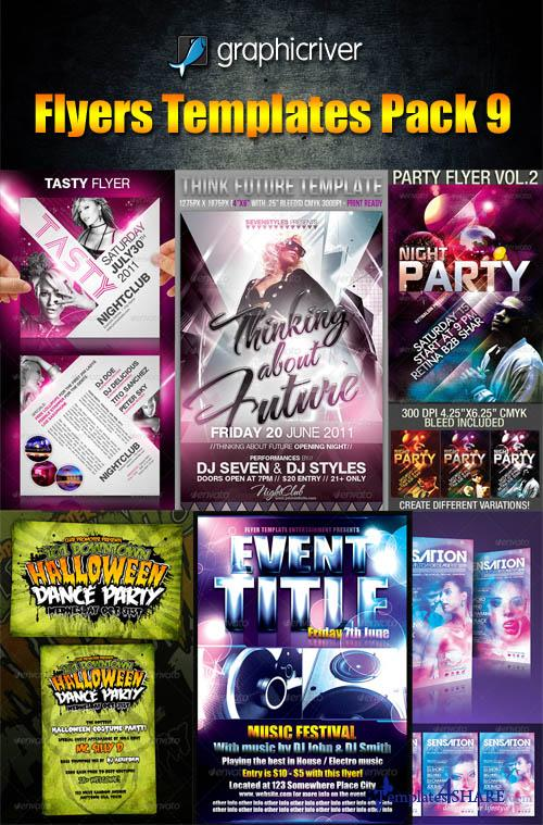 GraphicRiver Flyers Templates Pack 9 - REUPLOAD