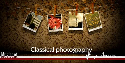 Classical Photography - Project for After Effects (Videohive) - REUPLOAD