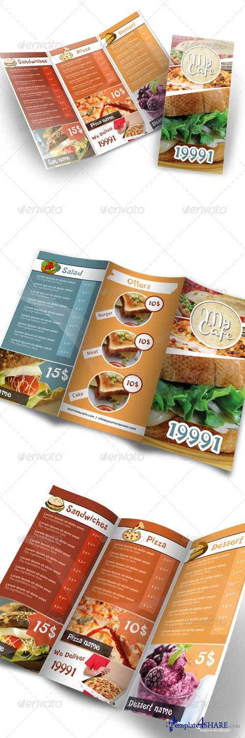 GraphicRiver Modern Restaurant Menu