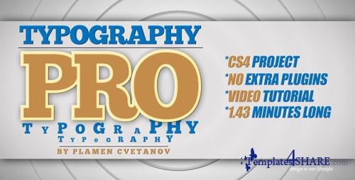 Typography Pro - Project for After Effects (Videohive) - REUPLOAD