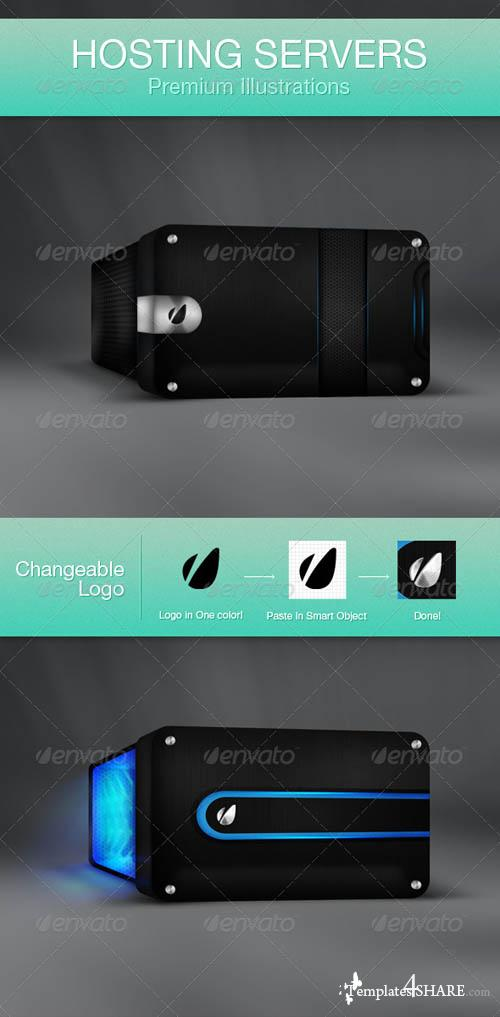GraphicRiver Hosting Servers