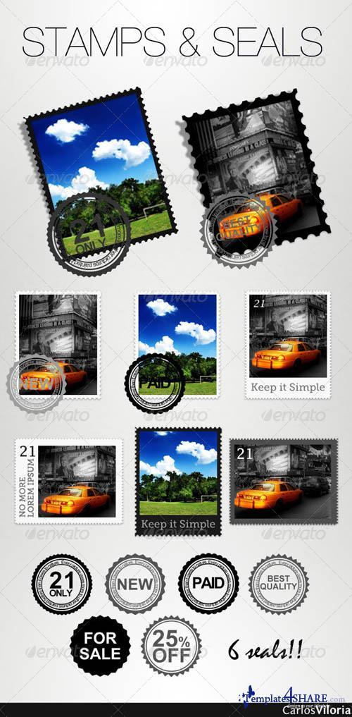 GraphicRiver Stamps And Seals