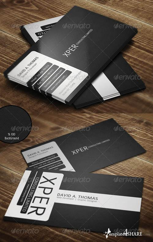 GraphicRiver Personal Business Card