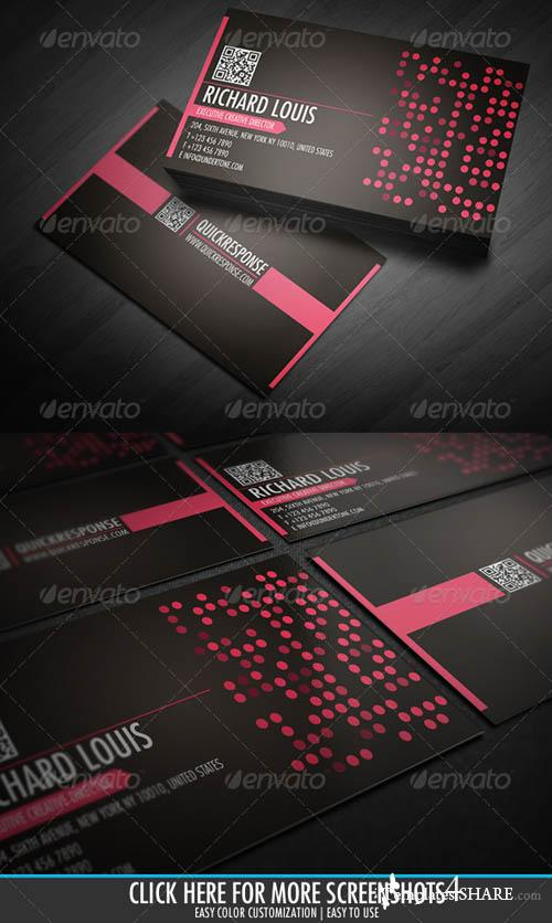 GraphicRiver Quick Response Business Card Design Ver 11