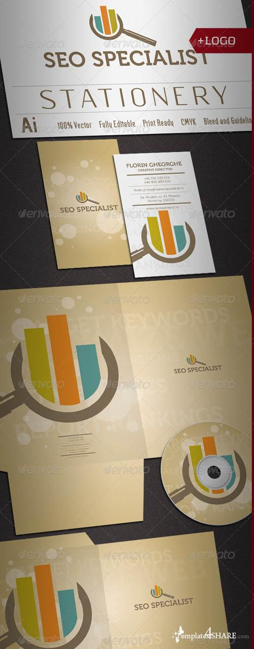 GraphicRiver Seo Specialist Stationery
