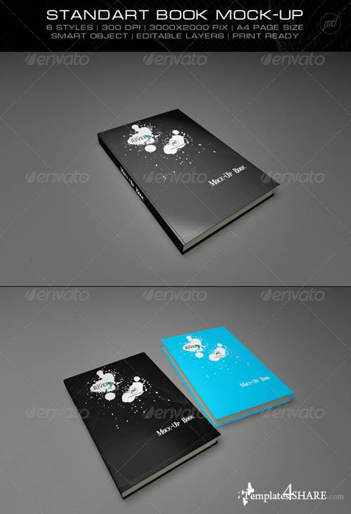 GraphicRiver Standart Mock-Up Book