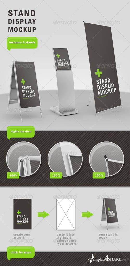 GraphicRiver Stand Display Mockup
