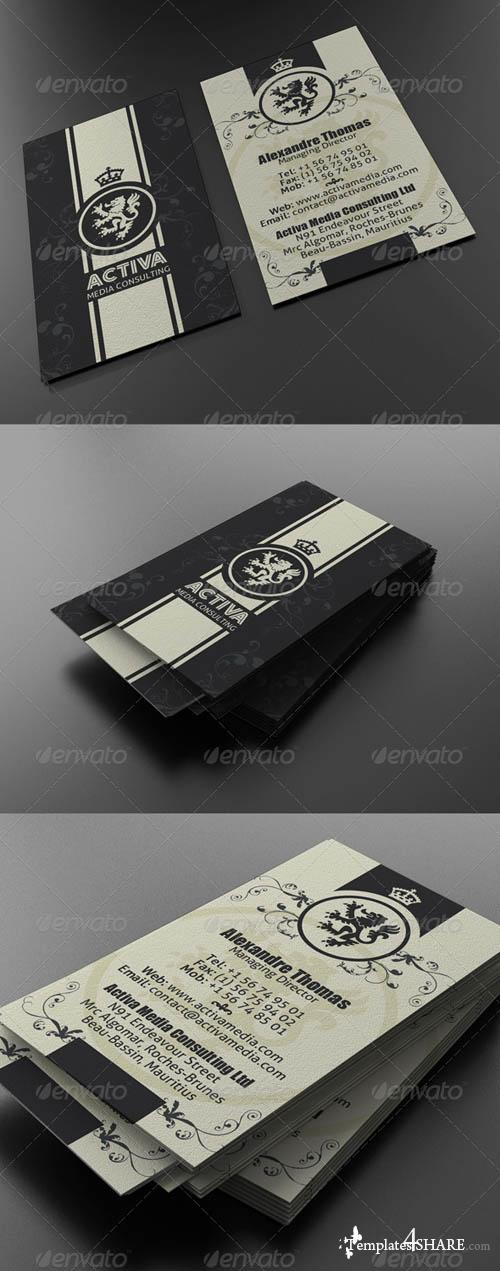 GraphicRiver Classy Business Card
