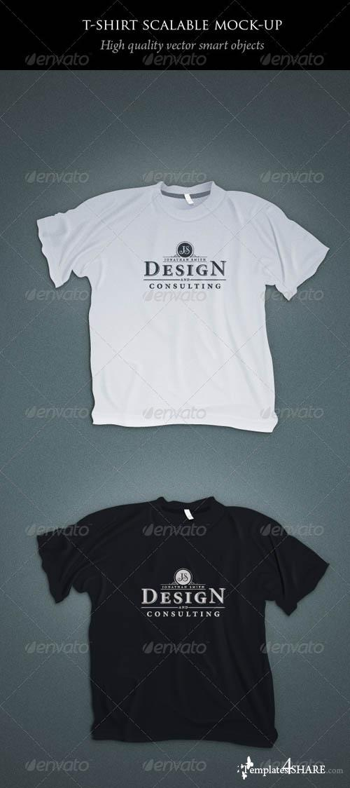 GraphicRiver Scalable T-shirt Mockups