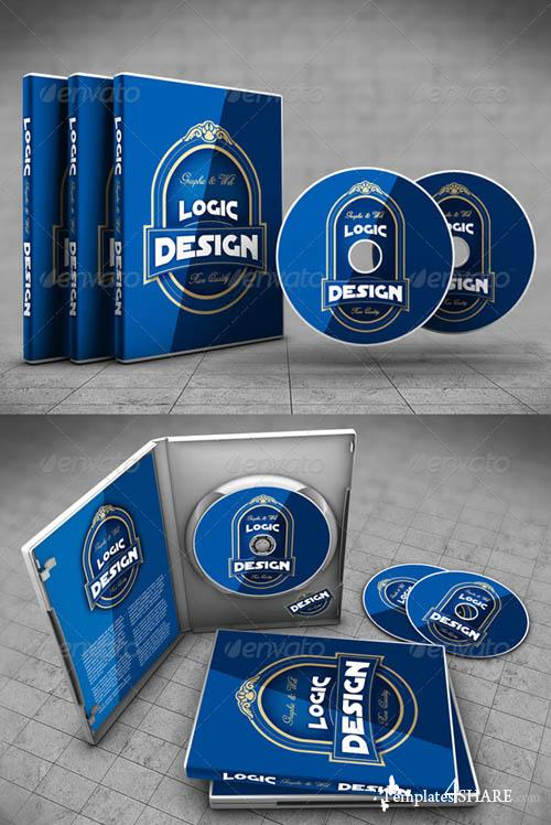 GraphicRiver DVD Case Mock Up