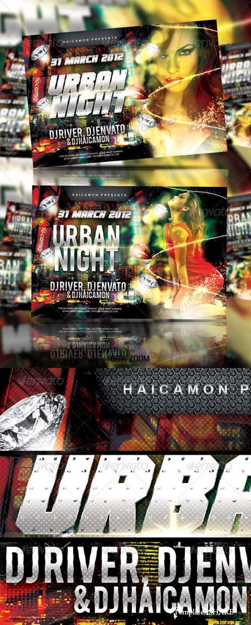 GraphicRiver Urban Soul Night Party