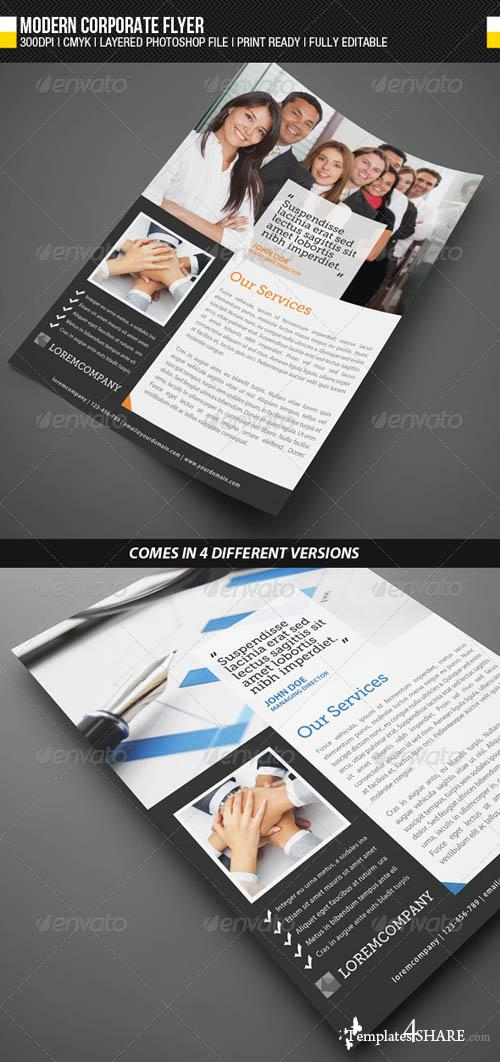 GraphicRiver Modern Corporate Flyer