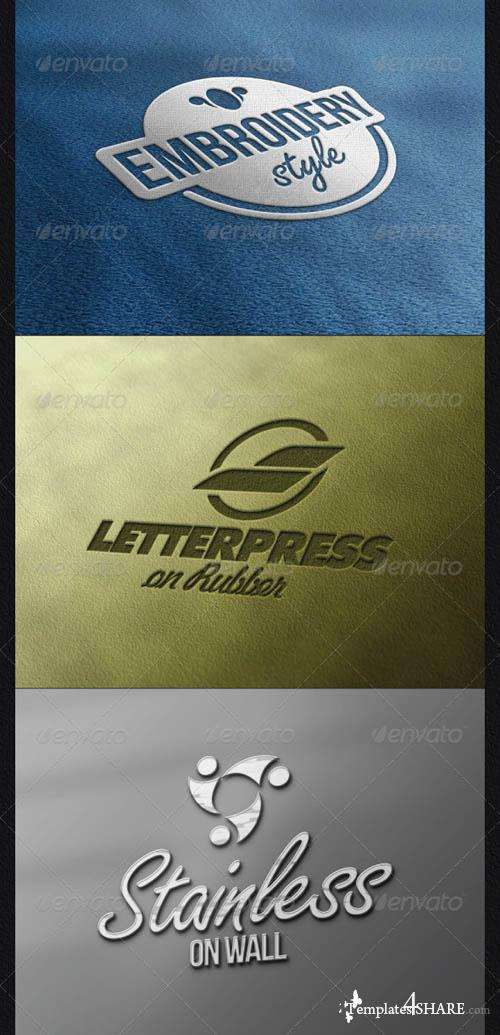 GraphicRiver Various Logo Mock-ups