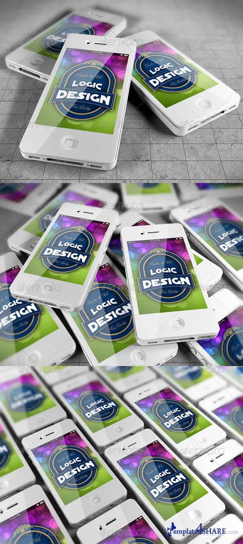 GraphicRiver Smart Phones Mock Up