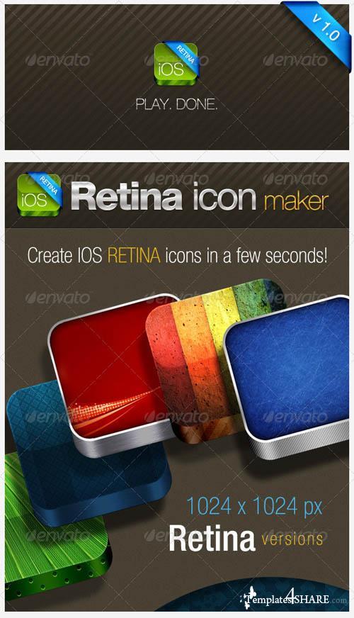 GraphicRiver IOS Retina Icon Maker
