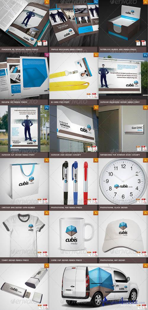 GraphicRiver Complete Business Corporate ID Catalog