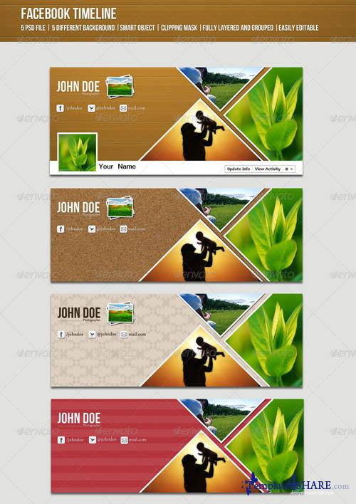 GraphicRiver Creative Facebook Timeline
