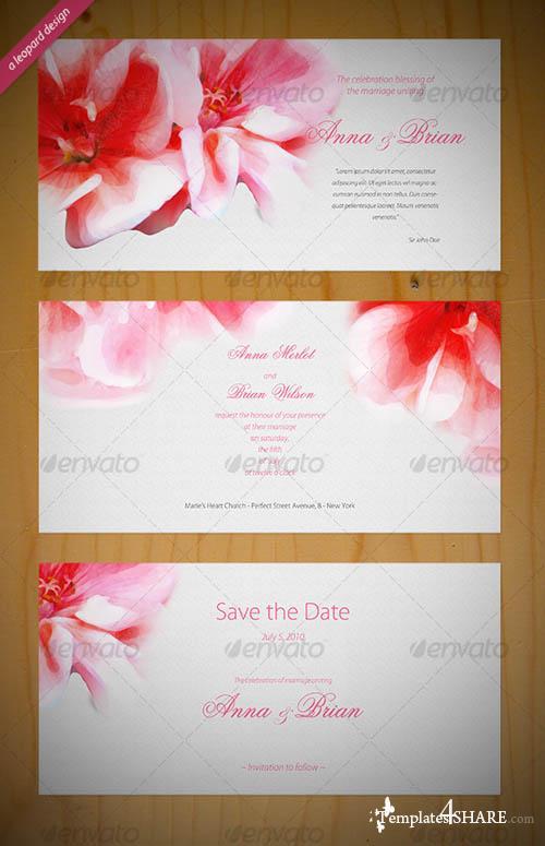 GraphicRiver Beautiful Wedding Invitation
