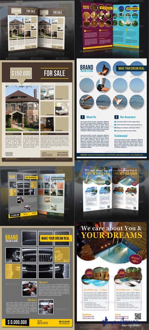 GraphicRiver Multiuse Presentation Flyer Mega Pack