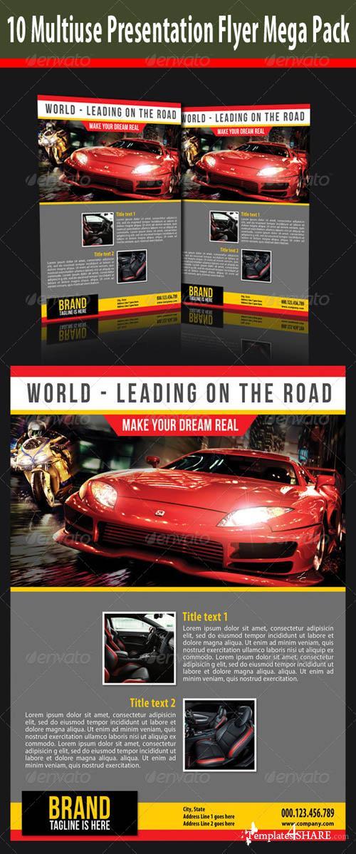 GraphicRiver Multiuse Presentation Flyer Mega Pack