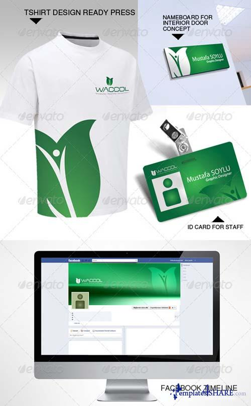 GraphicRiver Complete Corporate Identity-2-Waccol Green