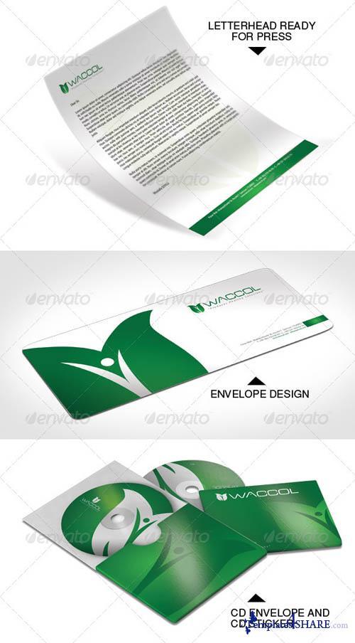 GraphicRiver Complete Corporate Identity-2-Waccol Green