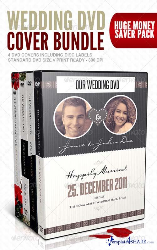 GraphicRiver Wedding DVD Cover & Disc Label Premium Bundle