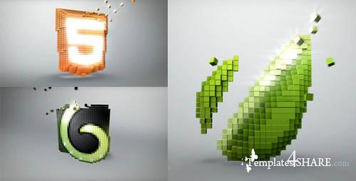 Voxel Channel - Projects for After Effects (VideoHive)