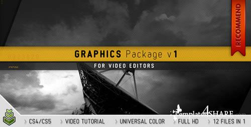 Graphics Package v1 - Projects for After Effects (VideoHive)