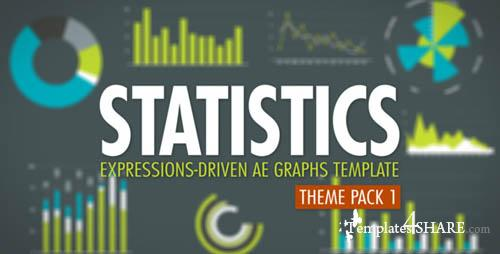 Statistics Theme Pack 1 - Projects for After Effects (VideoHive)