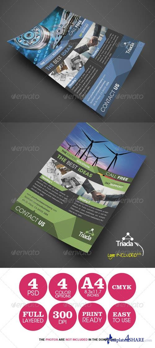 GraphicRiver Modern Corporate Business Flyer 4