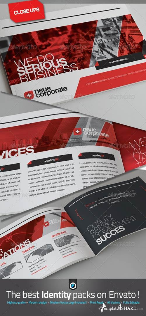 GraphicRiver RW Swiss Style Corporate Brochure - Catalog