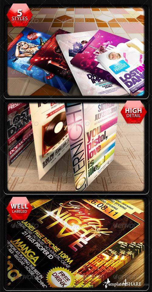 GraphicRiver Professional Flyer & Poster Mockup Bundle 2