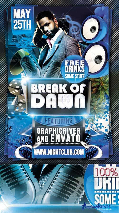 GraphicRiver Break Of Dawn Flyer Template