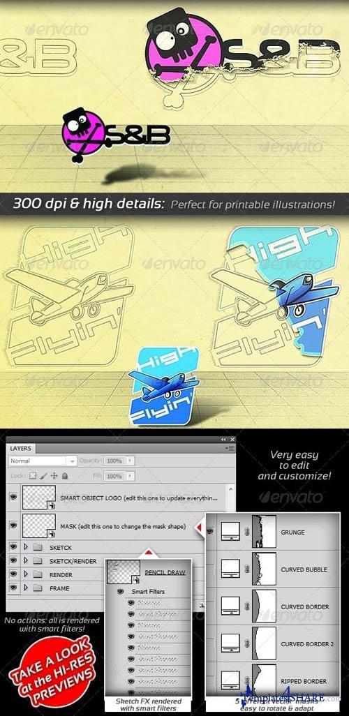 GraphicRiver Pencil Sketch Presenter