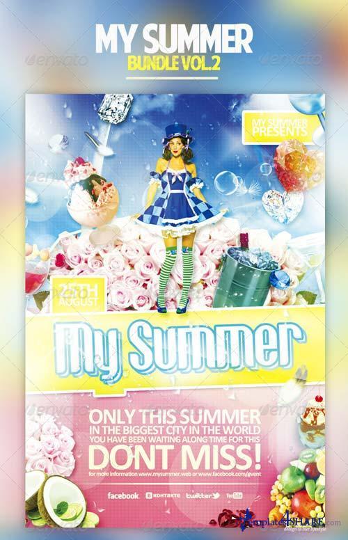GraphicRiver My Summer Bundle Vol.2