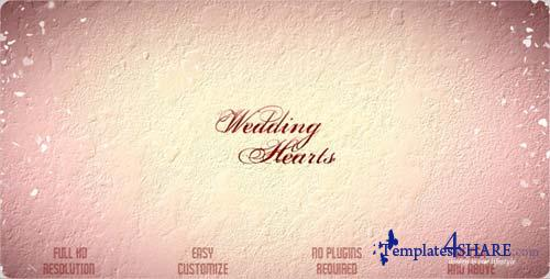 Wedding Hearts Slideshow - Projects for After Effects (VideoHive)