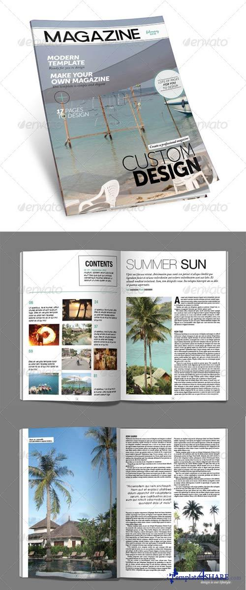 GraphicRiver Blue Monkey Media - Magazine Template