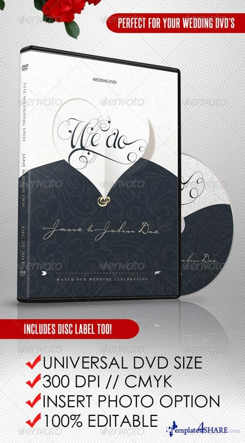 GraphicRiver Elegant Wedding DVD Covers and Disc Label