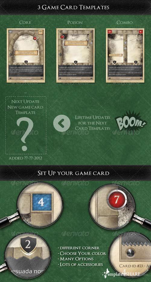 GraphicRiver TCG - Fantasy Trading Card Game Kit in Medieval