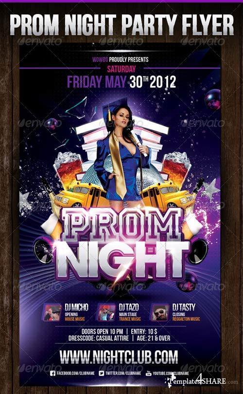 GraphicRiver Prom Night