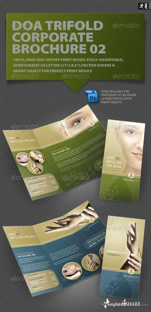 GraphicRiver DOA Trifold Corporate Brochure 02