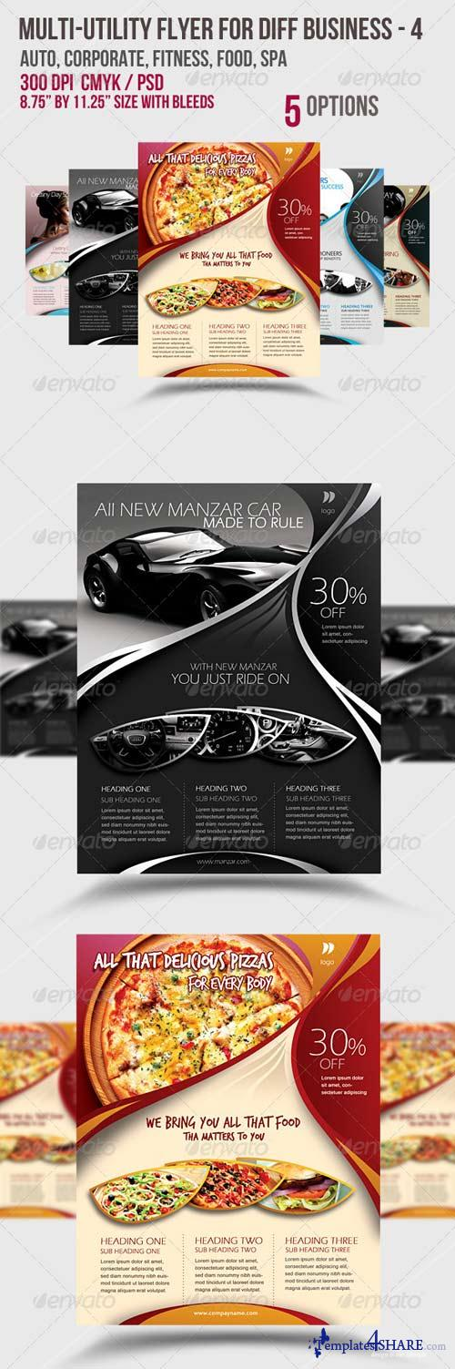 GraphicRiver Multi-utility Flyer For Different Business - 4
