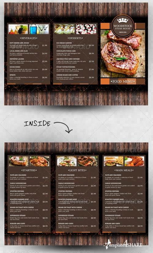 GraphicRiver Rustic Menu Template