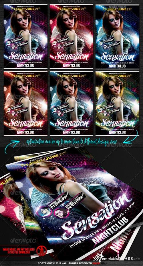 GraphicRiver Sensation Flyer Template