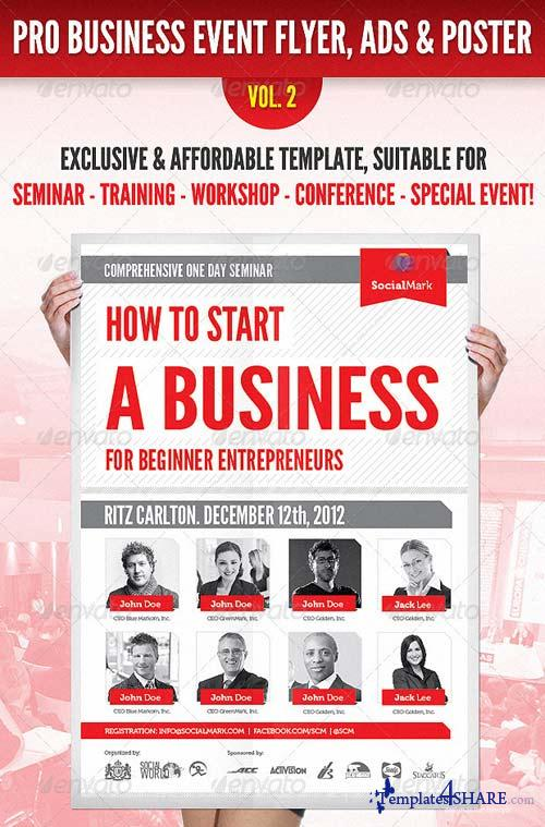 GraphicRiver Business Event Flyer, Advertisement & Poster Vol.2