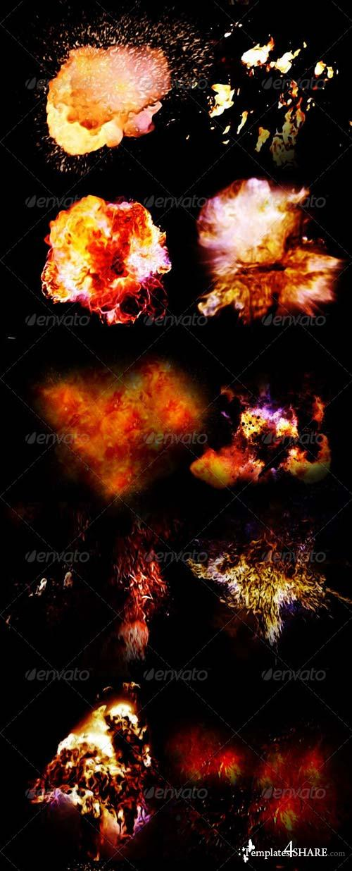 "GraphicRiver 31 Fire & Explosion Frames ""Inferno"""